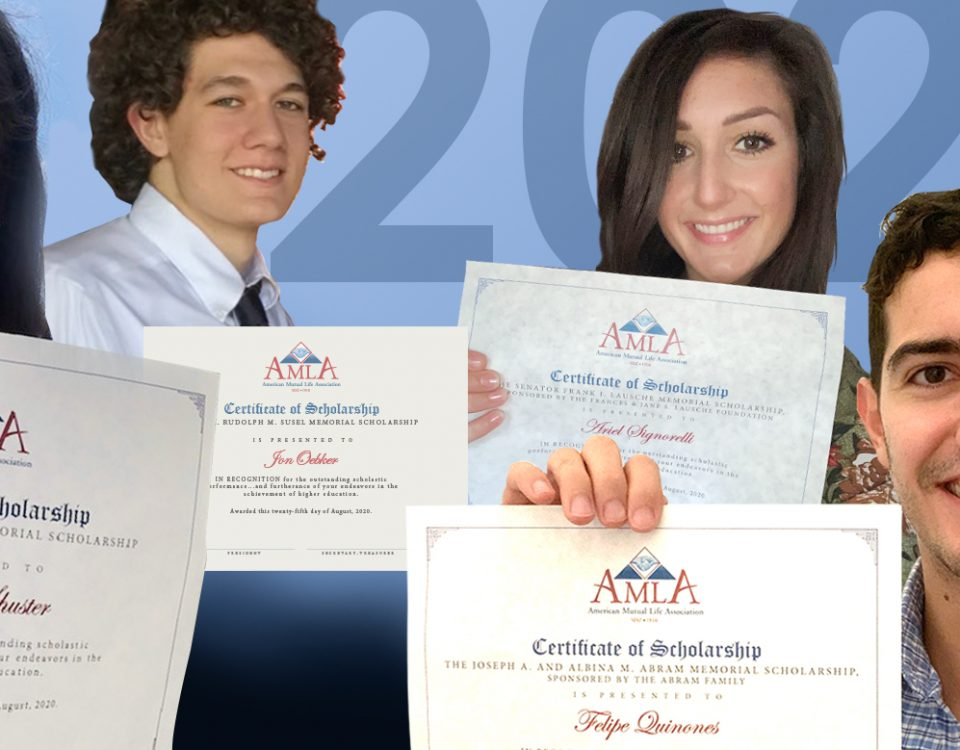 Congratulations to the AMLA Scholarship Recipients!