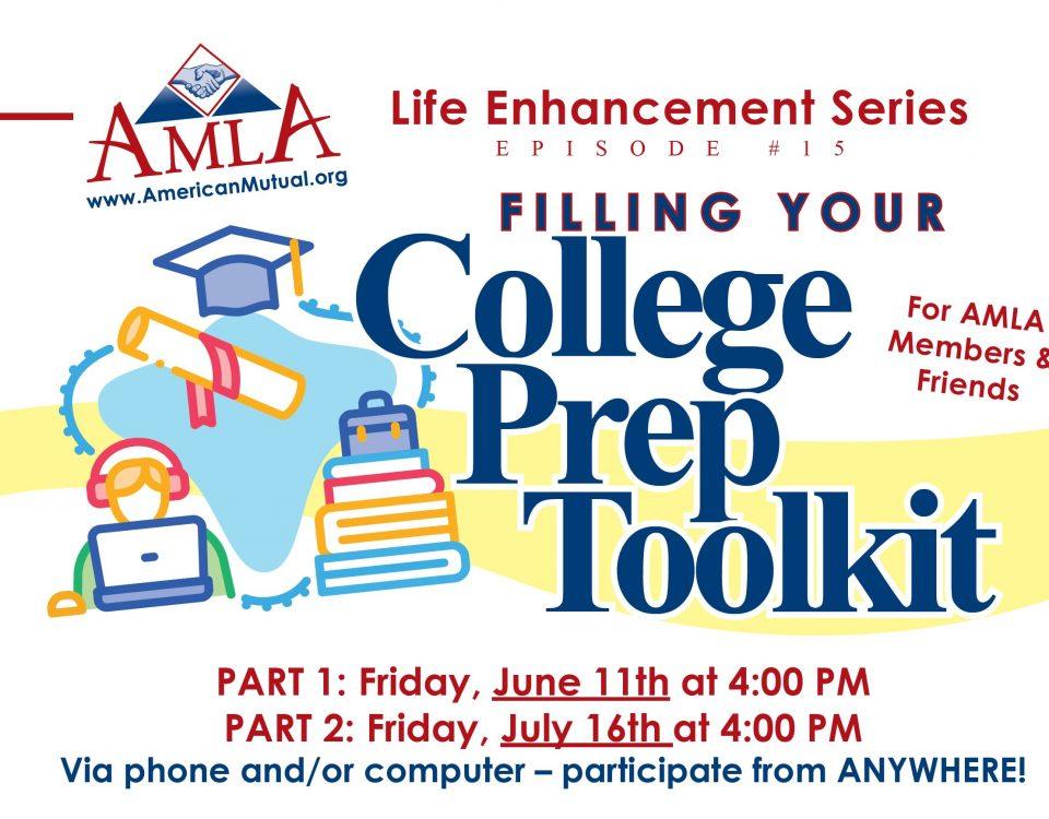AMLA Life Enhancement Series #15 - Filling
