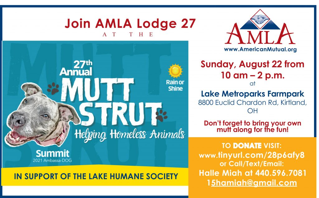 AMLA Lodge 27 Mutt Strut