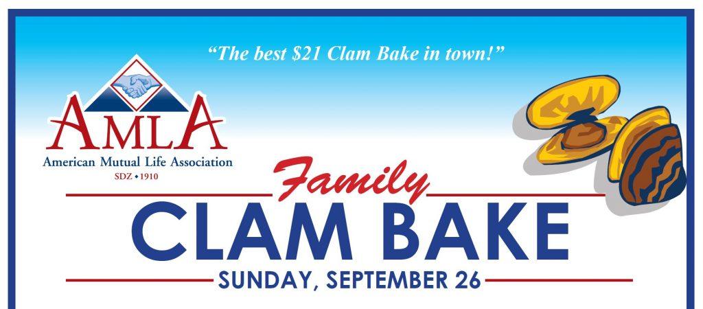 AMLA Family Clam Bake